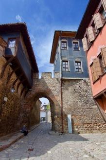 Plovdiv de oude stad.
