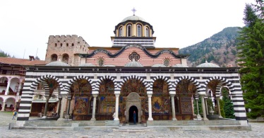 Kerk in het Rila klooster uit 1830