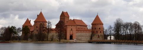 14e eeuws kasteel in Trakai
