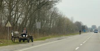 Vele 1PK transporten op de weg hier in oost Europa.