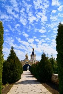 Nieuwe kerk ook gebouwd in Orheiul Vechi