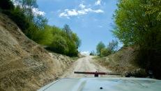 Gravelweg Melnik-Pirin