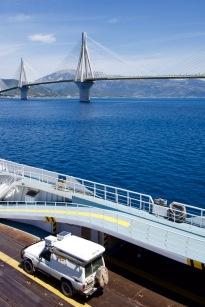 De boot was de helft goedkoper als de brug ( bij Patra) en je hebt ook nog eens mooi uitzicht.