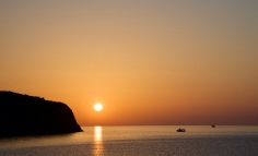 Sunrise Kochylas beach.