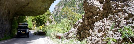Langada bergpas tussen Sparti en Kalamata.